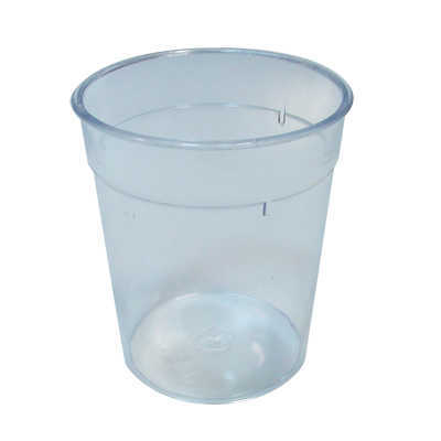 VERRE DURE 200ML PS TRANSPARENT (SANS SAC)