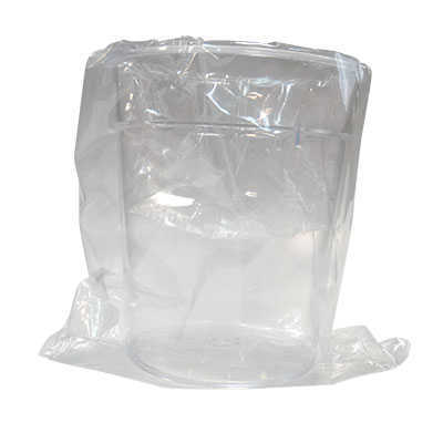 VERRE DURE 200ML PS TRANSPARENT SAC INDIVIDUEL