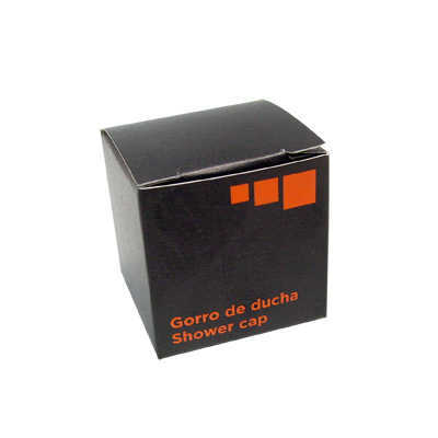 BONNET DE DOUCHE STD PE ORANGE BLACK