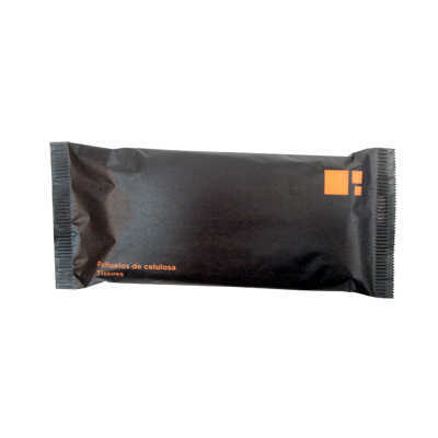MOUCHOIRS PAPIER TISSU 5 UN ORANGE BLACK