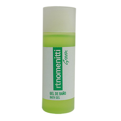 BOTELLA 30ML NG2 GEL DOUCHE TEVERD NOMENITTI GREEN